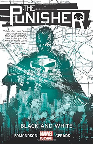Nathan Edmondson The Punisher Volume 1 Black And White