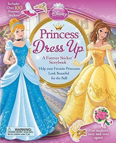 Disney Princess Disney Princess Princess Dress Up A Forever Sticker Storybook