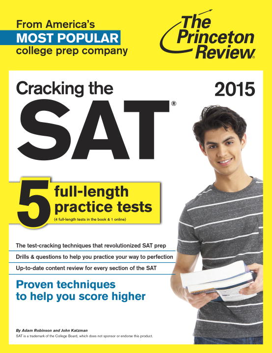 Adam Robinson Cracking The Sat 2015