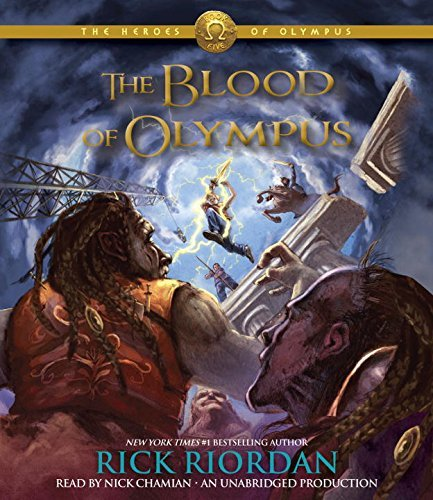 Rick Riordan The Blood Of Olympus