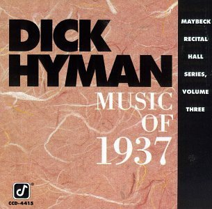 Dick Hyman Vol. 3 Maybeck Recital Hall Mu