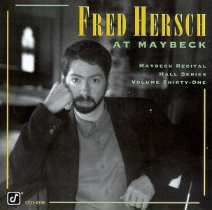 Fred Hersch Live At Maybeck Recital Hall