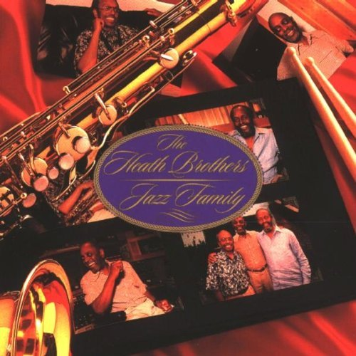 Heath Brothers Jazz Family CD R