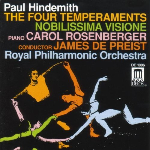 P. Hindemith Four Temperaments Nobilissima Rosenberger*carol (pno) Depriest Royal Po