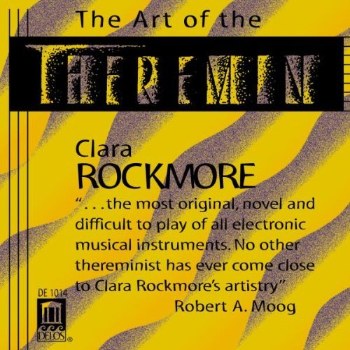 Art Of The Theremin First Electronic Instrument Rockmore*clara (theremin)