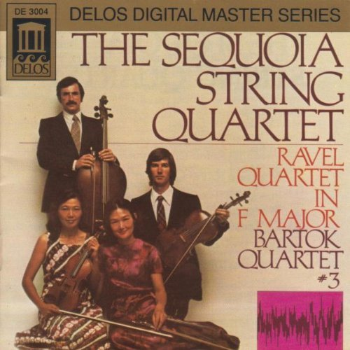 Bartok Ravel Str Qt Str Qt 3 Sequoia String Quartet