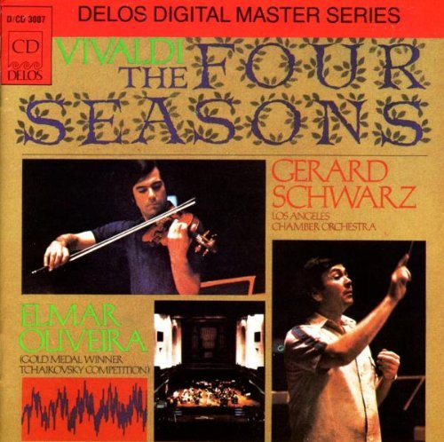 Antonio Vivaldi Four Seasons Oliveira*elmar (vn) La Co