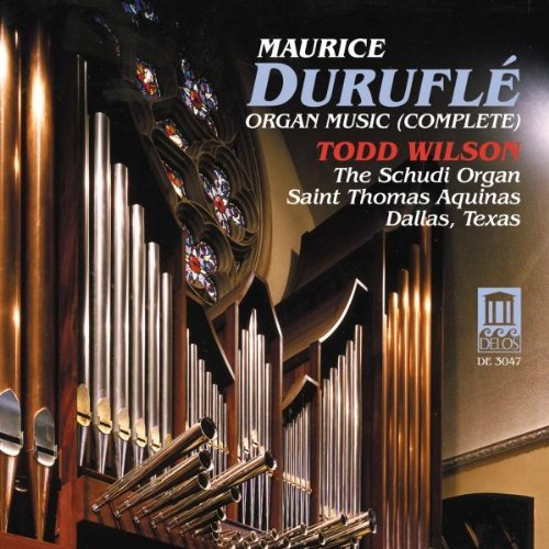 M. Durufle Organ Music Wilson (org)