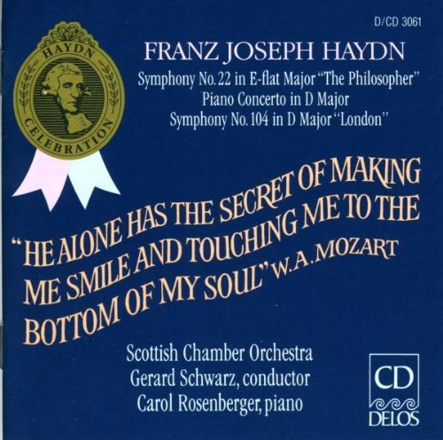 J. Haydn Sym 22 104 Con Pno Rosenberger*carol (pno) Schwarz Scottish Co
