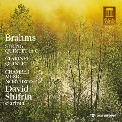 Johannes Brahms Clarinet Quintet String Quinte Shifrin*david (cl) Chbr Music Northwest