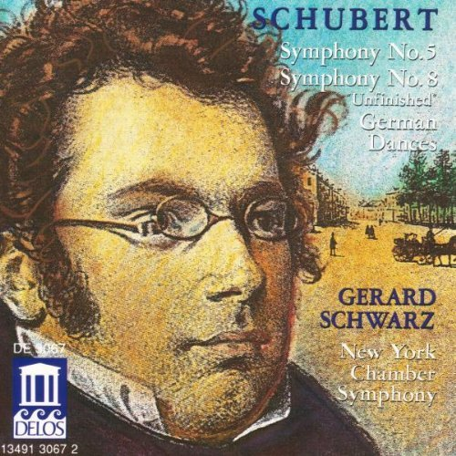 F. Schubert Sym 5 8 German Dances Schwarz New York Chbr Sym