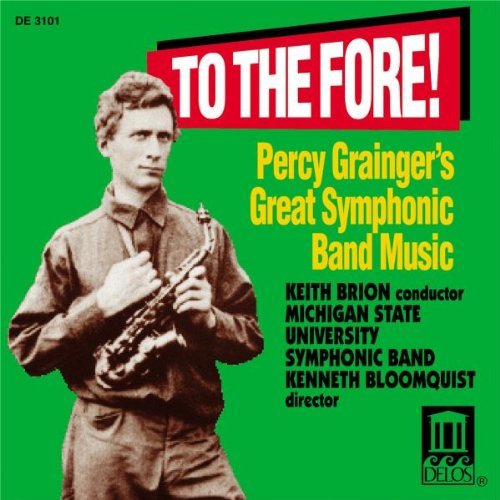 P. Grainger Symphonic Band Music Brion Michigan S.U. Sym Band