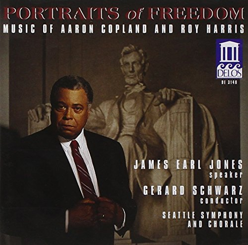 Copland Harris Fanfare Lincoln Portrait Out Jones*james Earl (spkr) Schwarz Seattle So