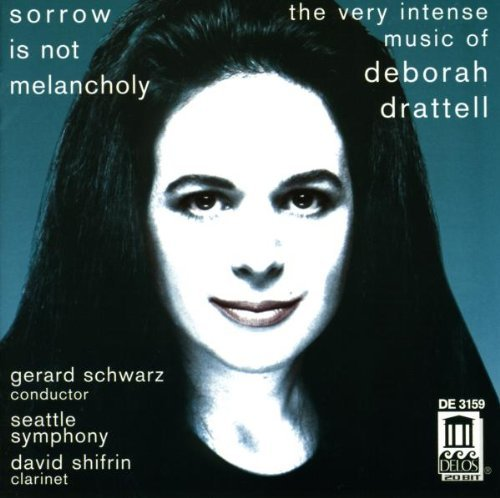 D. Drattell Very Intense Music Of Shifrin (cl) Goff (fl) Schwarz Seattle Sym