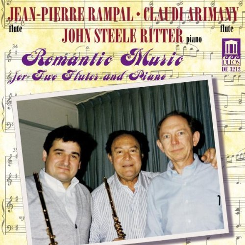 Jean Pierre Rampal Romantic Music For Two Flutes Rampal Arimany Ritter