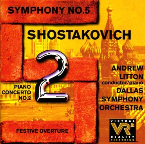 Dmitri Shostakovich Festive Overture Symphony No. Litton*andrew (pno) Litton Dallas So