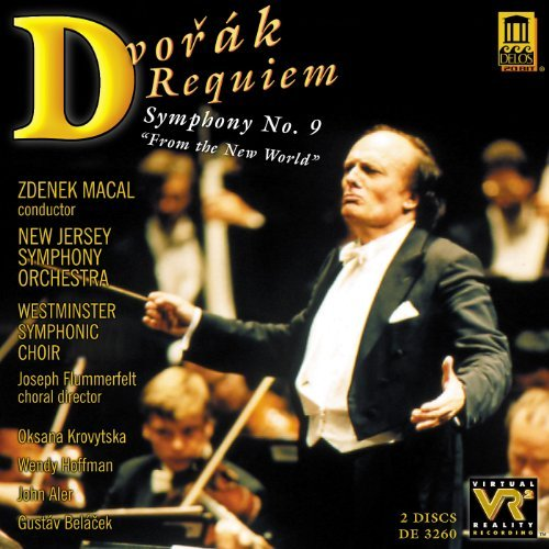 Antonin Dvorák Requiem Sym 9 Krovytska Hoffmann Aler & Macal New Jersey So