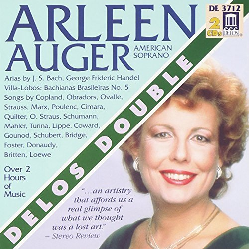 Arleen Aurer Arleen Auger Collection Aria Auger (sop) Baldwin (pno) Various