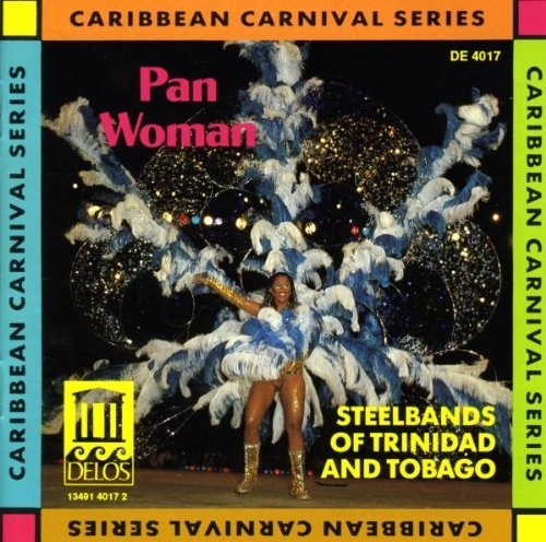 Pan Woman Steelbands Of Trinidad & Tobag
