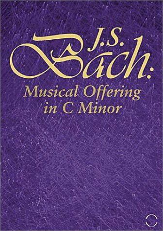 J.S. Bach Musical Offering In C Minor Kuijken (fl) Kuijken (vn)