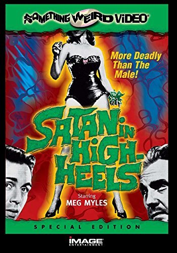 Satan In High Heels Myles Hall Tenney Sabrina Bw DVD R Nr Spec. Ed.
