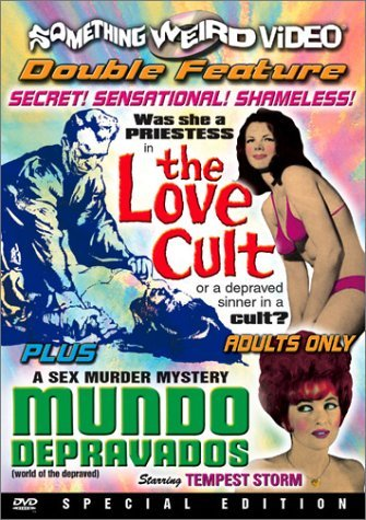 Love Cult Mundo Depravados Double Feature Bw DVD R Nr 2 On 1