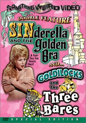 Sinderella & The Golden Bra Go Double Feature DVD R Nr