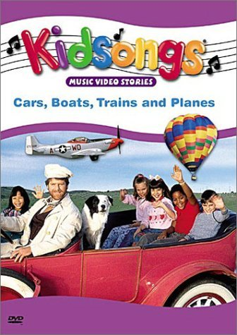 Cars Boats Trains & Planes Kidsongs Clr Nr