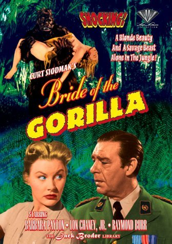 Bride Of The Gorilla Chaney Burr Payton Bw Nr