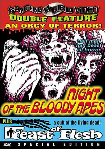 Night Of The Bloody Apes Feast Night Of The Blood Apes Feast Clr Bw Eng Dub Nr Spec. Ed.
