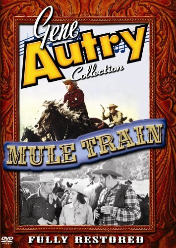 Mule Train? Autry Buttram Bw Nr