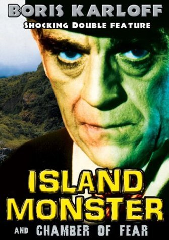 Island Monster Chamber Of Fear Karloff Boris Clr Bw Nr 4 DVD