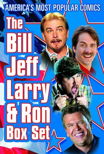 Foxworthy White Engvall Larry Bill Jeff Larry & Ron Nr 4 DVD