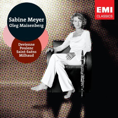 Sabine Meyer French Chamber Music Meyer (cl) Maisenberg (pno)