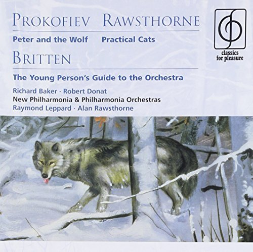 Richard Baker Prokofiev Peter & The Wolf New Phil & Phil Orch
