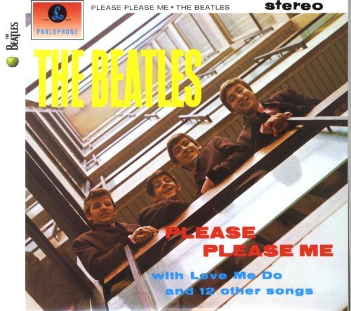Beatles Please Please Me Remastered Digipak