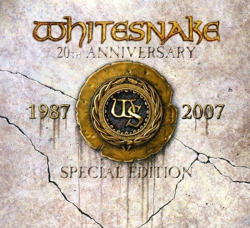 Whitesnake 1987 20th Anniversary Collecto Import Gbr Incl. Pal DVD