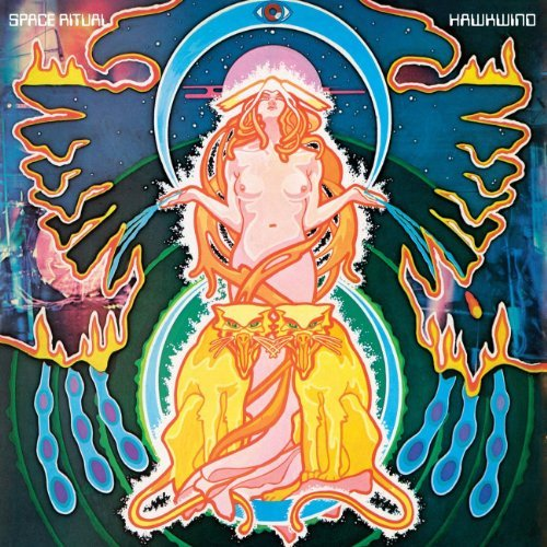 Hawkwind Space Ritual Special Ed. 2 CD Set Pal R0 DVD
