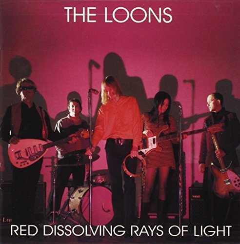 Loons Red Dissolving Rays Of Light