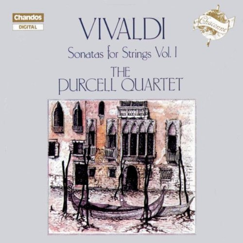 Antonio Vivaldi Son Strs Vol 1 Purcell Qt