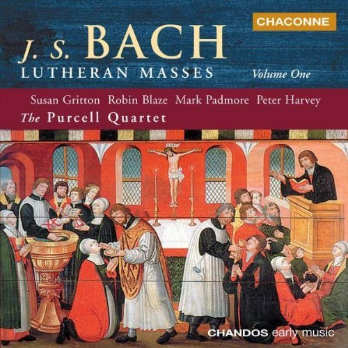 Johann Sebastian Bach Lutheran Masses Vol. 1 Gritton Blaze Harvey Purcell Qt