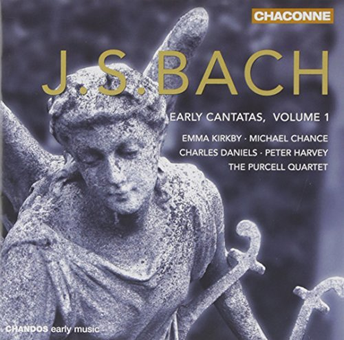 Johann Sebastian Bach Early Cantatas Vol. 1 (bwv 4) Kirkby (sop) Chance (ten) &