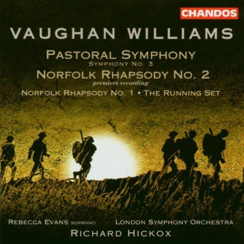 R. Vaughan Williams Norfolk Rhapsodies Nos. 1 Evans*rebecca (sop) Hickox London So