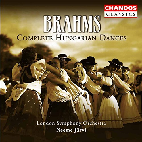 Johannes Brahms Hungarian Dances Nos. 1 21 Jarvi London So