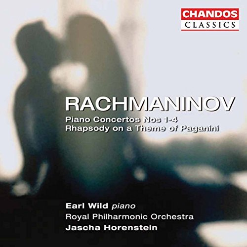 S. Rachmaninoff Cons Pno 1 4 Rhap Theme Of Pag Wild*earl (pno) Horenstein Royal Po