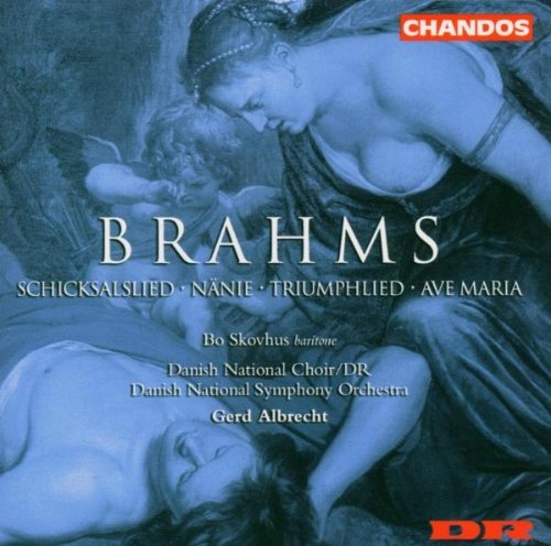 Johannes Brahms Works For Chorus & Orchestra V Danish Natl Choir