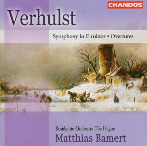 J. Verhulst Symphony In E Minor Residentie Orchestra