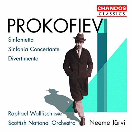 S. Prokofiev Divertissement Symphony Concer Wallfisch (vc) Jarvi Scottish Natl. Orch.
