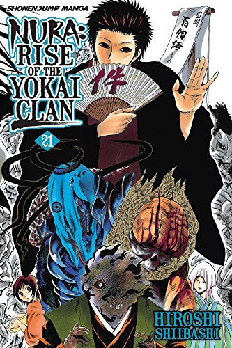 Hiroshi Shiibashi Nura Rise Of The Yokai Clan Volume 21