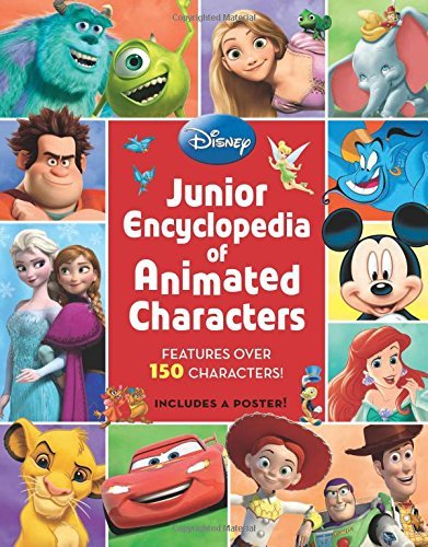 Disney Press Junior Encyclopedia Of Animated Characters 0003 Edition;